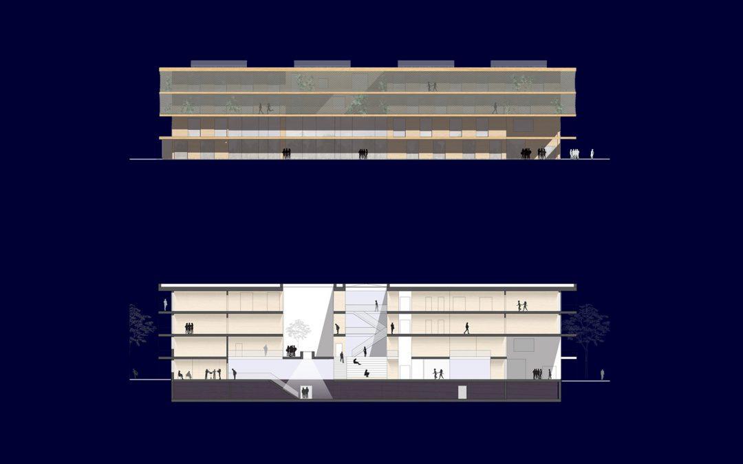 cluster school 1200 Vienna